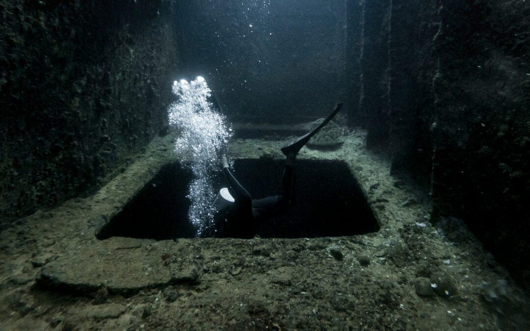Diving in Chuuk