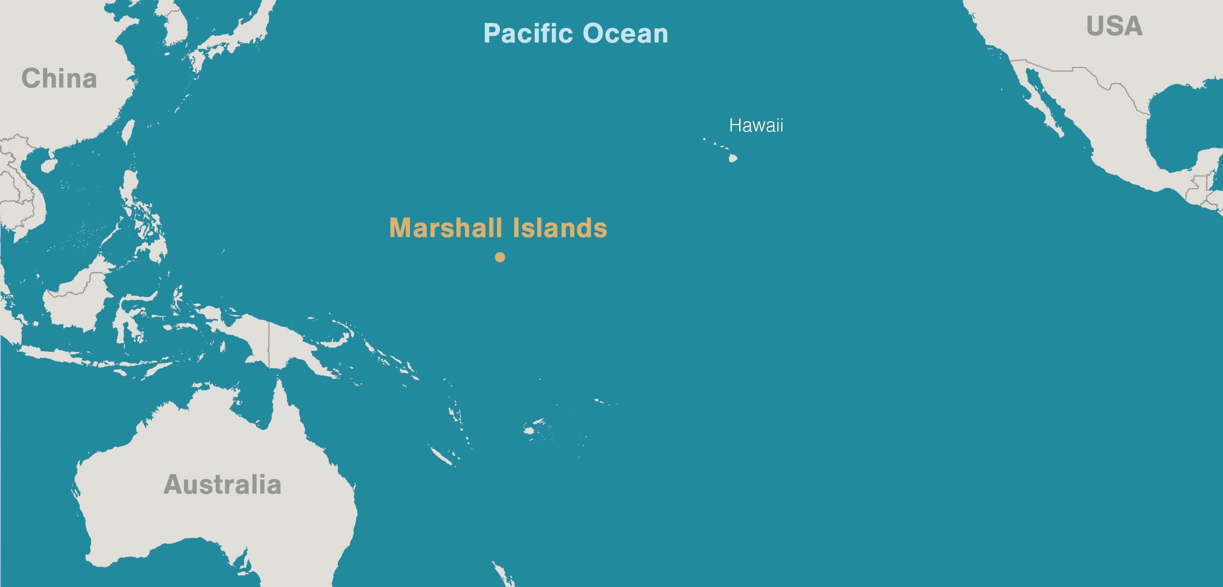 Marshal Islands map
