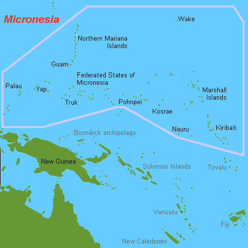 Some interesting facts about Micronesia